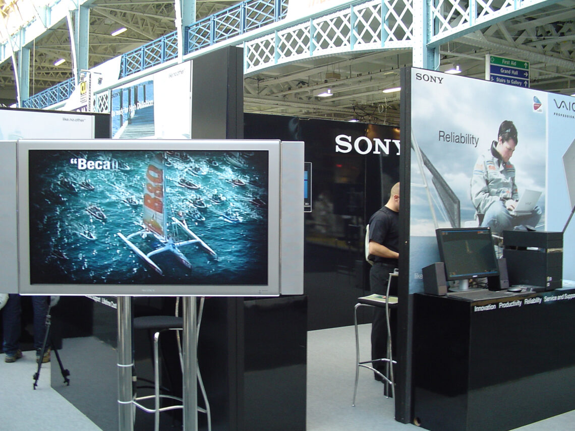 Sony stand
