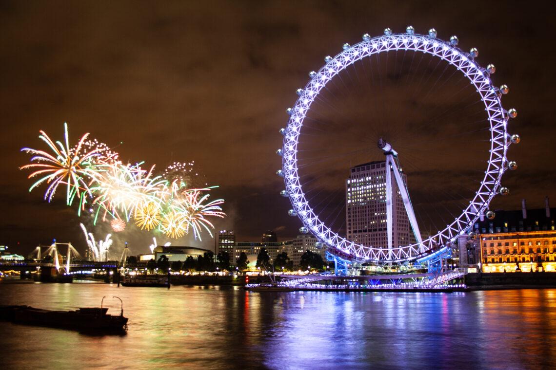 Thames Festival Fireworks 2007