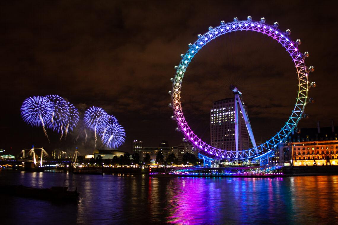 London Mayor's Show Fireworks