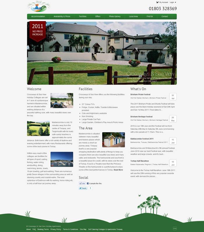 Crossways & Sea View Website Refresh