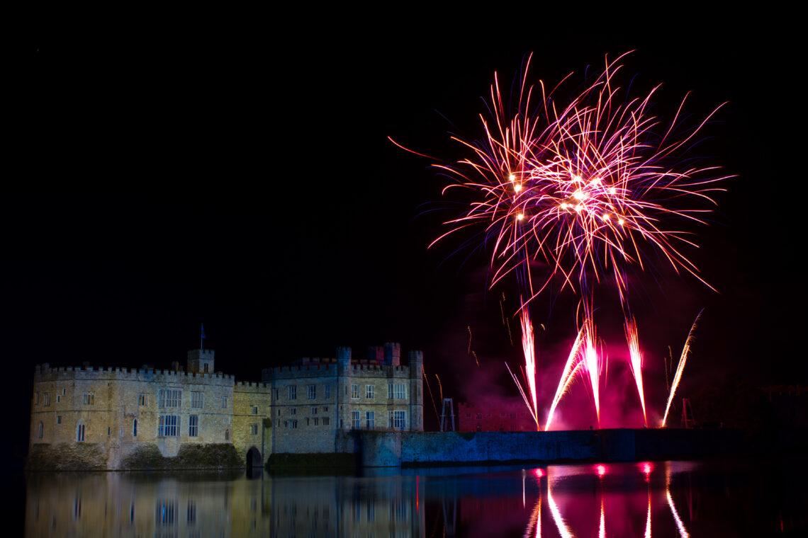 Leeds Castle Fireworks 2010